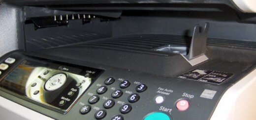Panasonic DP-MB350 internal paper exit tray