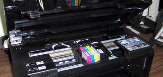 HP Officejet 6500A PLUS Scanner - Stays Open Automatically