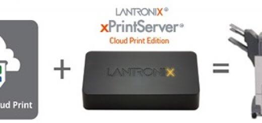 lantronix  xprint server cloud edition