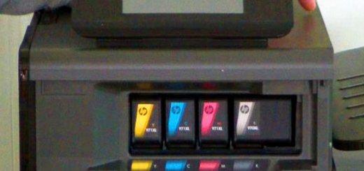 OJP X551 Ink Cartridges (5)