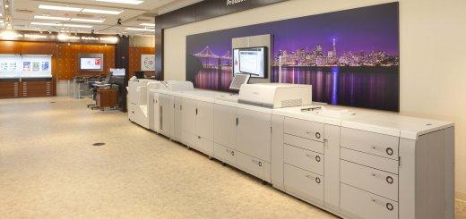 Canon USA HQ Showroom -- Production Printing