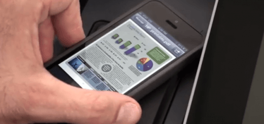 NFC-Touch-to-print