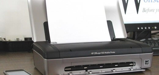 HP Officejet 100 as tested