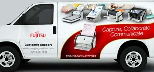 Fujitsu truck