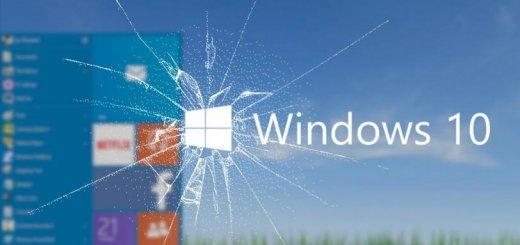 Broken Windows 10